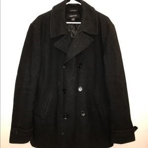 Claiborne Men's Wool Trench Coat